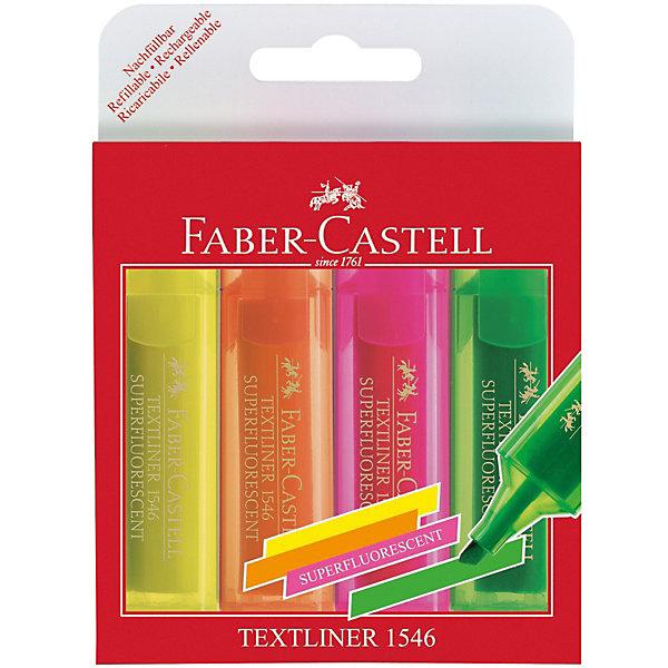 Faber-Castell Набор текстовыделителей Faber-Castell 46 Superfluorescent, 4 цвета