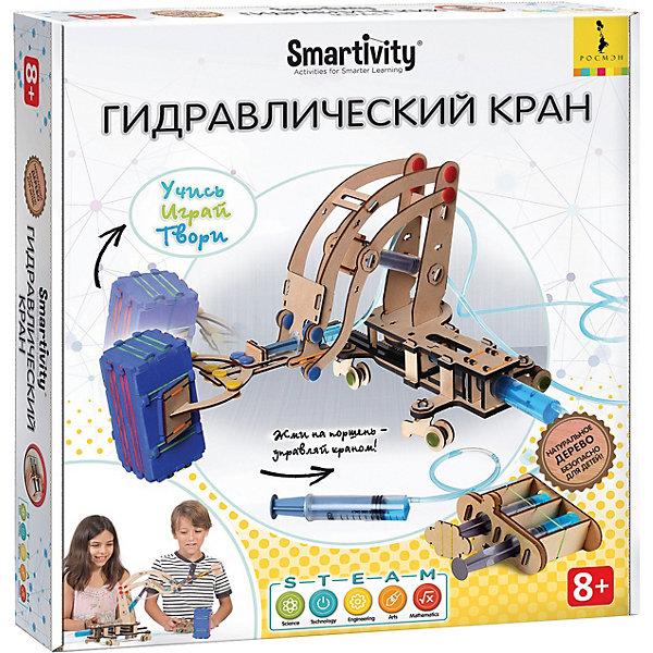 Росмэн Сборная модель Smartivity Гидравлический кран, 256 деталей