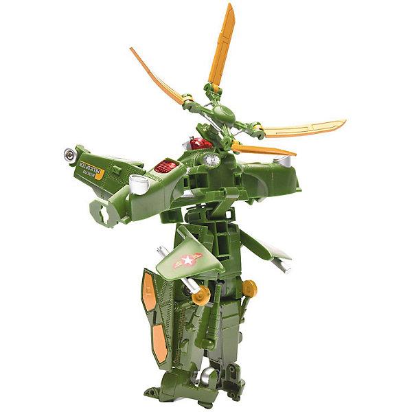 Devik Toys Самолет и Робот 2 в 1 Девилон Военный вертолет bondibon робот и самолет 2 в 1 111 деталей разноцветный