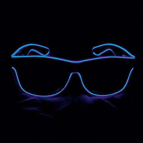 Патибум Очки Blue, с подсветкой