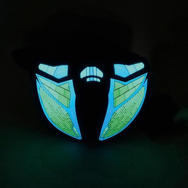 Патибум Полумаска Патибум, Техно, c подсветкой патибум салфетки патибум горошек красный 33х33 см 12 шт