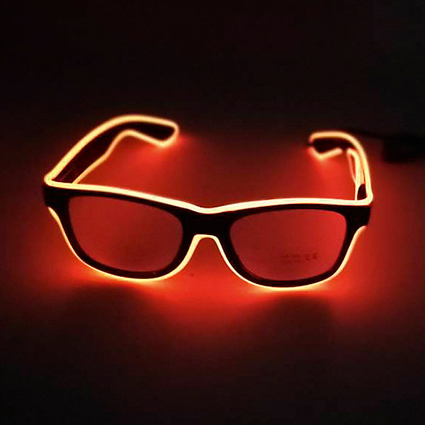 Патибум Очки Orange, с подсветкой