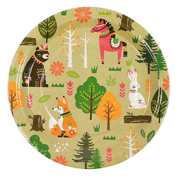 Патибум Комплект тарелок Патибум, Лесные жители