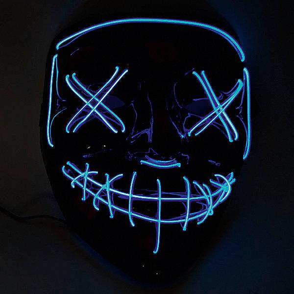 Патибум Маска Blue, c подсветкой