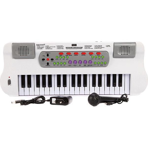 Синтезатор Наша Игрушка, с микрофоном, 37 клавиш