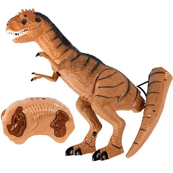 Наша Игрушка Радиоуправляемый динозавр Наша Игрушка, со светом и звуком плита klein со звуком и подсветкой 9490