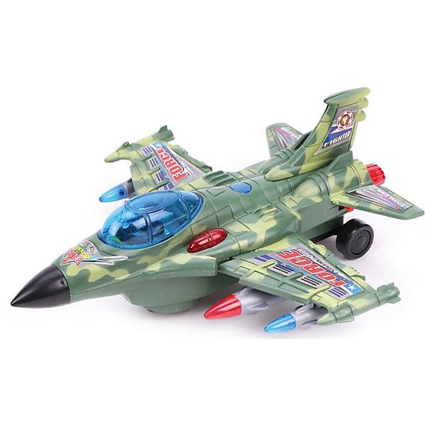 Наша Игрушка Самолёт Военный, со светом и звуком