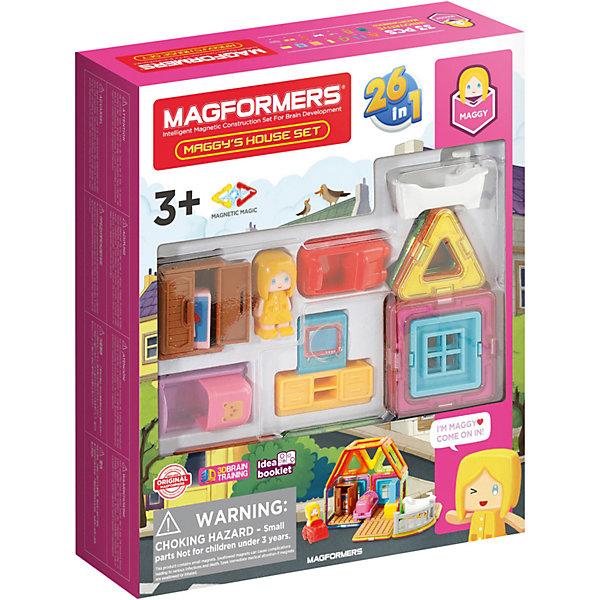Купить Магнитный конструктор MAGFORMERS Maggy's House Set, 33 элемента, Китай, Унисекс