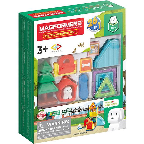 Магнитный конструктор MAGFORMERS Milo's Mansion Set, 33 элемента, Китай, Унисекс  - купить со скидкой