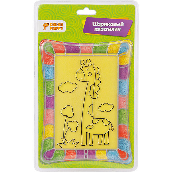 Color Puppy Картина из пластилина Жирафик