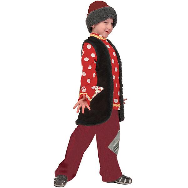 Купить Карнавальный костюм Карнавалофф Емеля , Россия, 128/134, 134/140, 116/122, Мужской