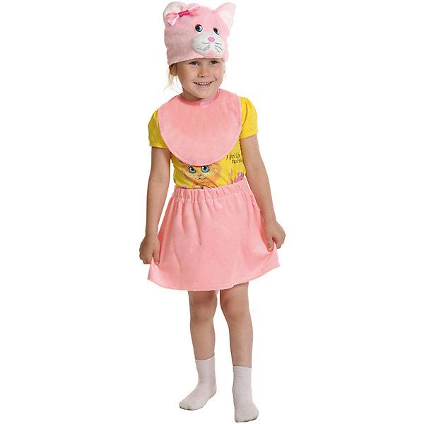Карнавалофф Карнавальный костюм Кошечка розовая,92-116