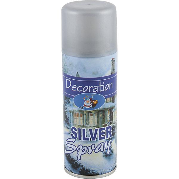 Волшебная страна Аэрозоль Spray-G, серебряный