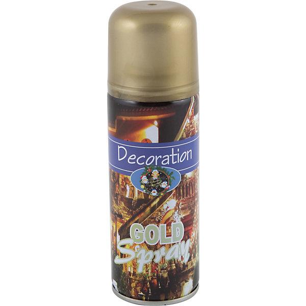 Волшебная страна Аэрозоль Spray-G, золотой