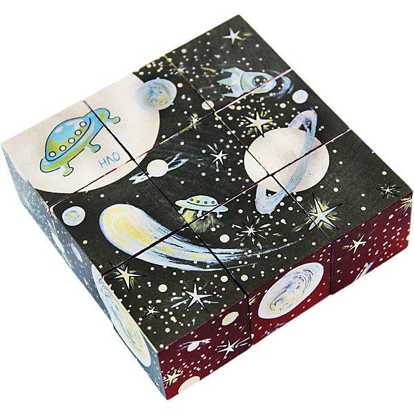 Краснокамская игрушка Кубики Космос AR