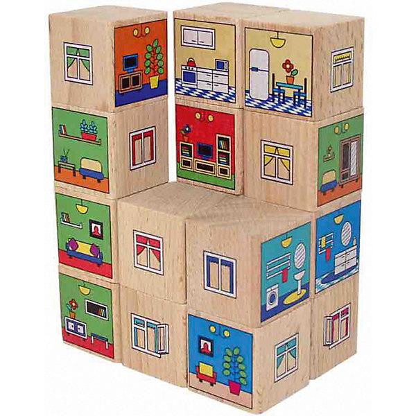 Краснокамская игрушка Кубики Краснокамская игрушка Квартиры игрушка