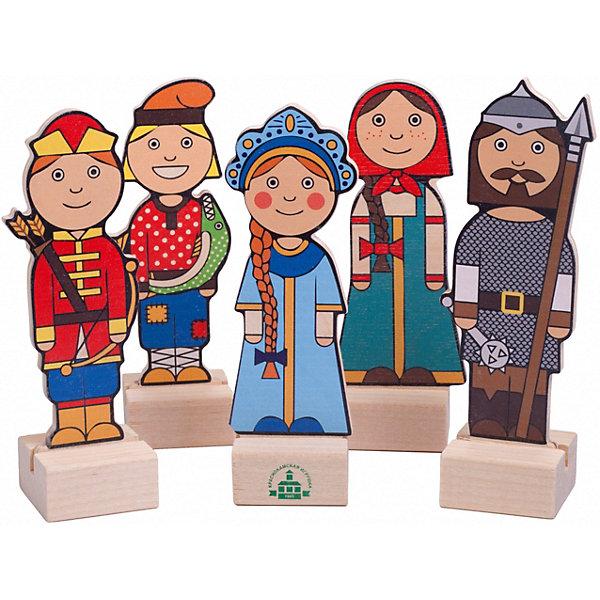 Краснокамская игрушка Набор для кукольного театра Герои русских сказок
