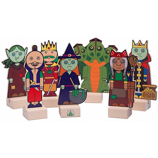 Краснокамская игрушка Набор для кукольного театра Злодеи