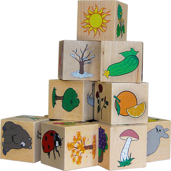 Краснокамская игрушка Кубики Окружающий мир