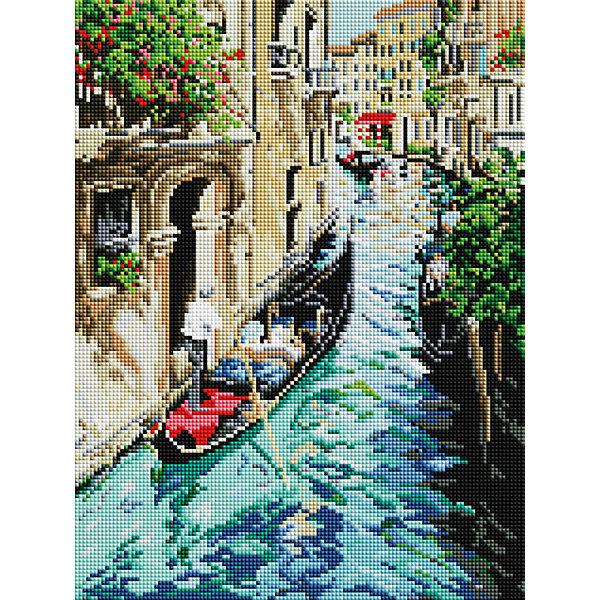 Белоснежка Алмазная мозаика на подрамнике Белоснежка Прогулка по Венеции 30х40 см белоснежка алмазная мозаика белоснежка ветка гортензии 20х20 см