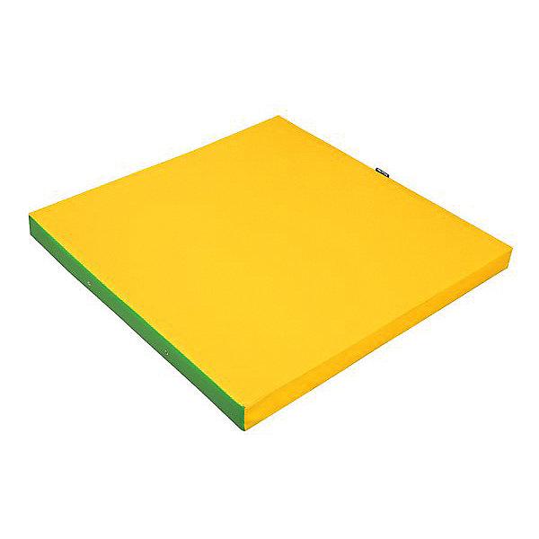 Kett-Up Мат гимнастический Kett-Up, зеленый/желтый