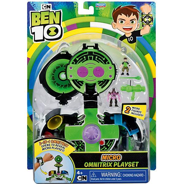 playmates игровой набор playmates ben 10 омнизапуск мегапак часы и 6 фигурок PLAYMATES Игровой набор Playmates Ben 10 Микромир. Омнитрикс