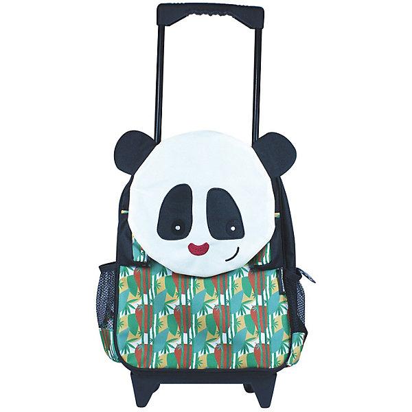 DEGLINGOS Рюкзак-чемодан Deglingos Rototos The Panda разноцветный