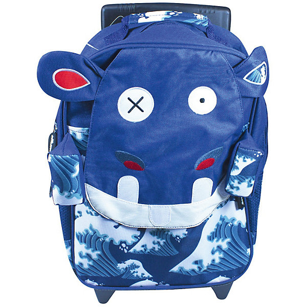 DEGLINGOS Рюкзак-чемодан Deglingos Hippipos L'Hippo синий mistinguette кукла deglingos mistinguette antoinette