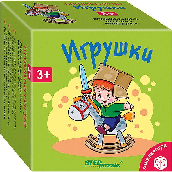 Степ Пазл Развивающий набор Step Puzzle Книжка + игра Игрушки