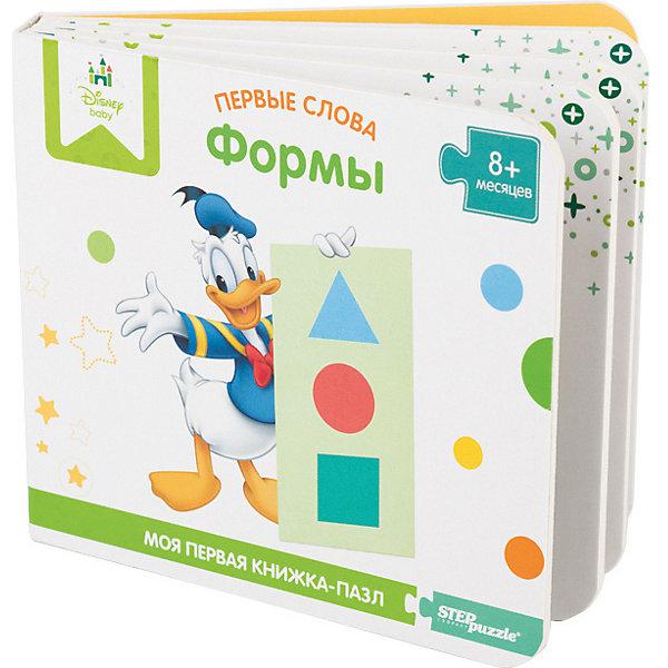 Степ Пазл Книжка-игрушка Step Puzzle Disney Первые слова Формы