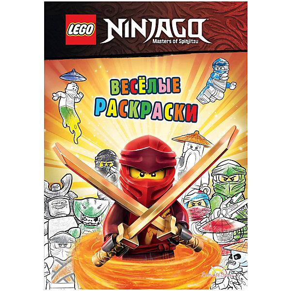 LEGO Книжка Ninjago Весёлые раскраски