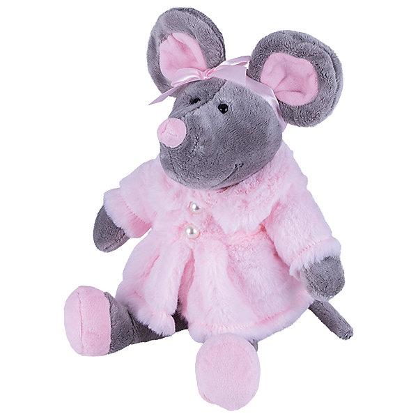 Softoy Мягкая игрушка Softoy Мышь в шубе 26 см игрушка мягкая заяц в розовой шубе 30 см