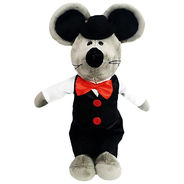 Softoy Мягкая игрушка Мышь в бабочке 26 см