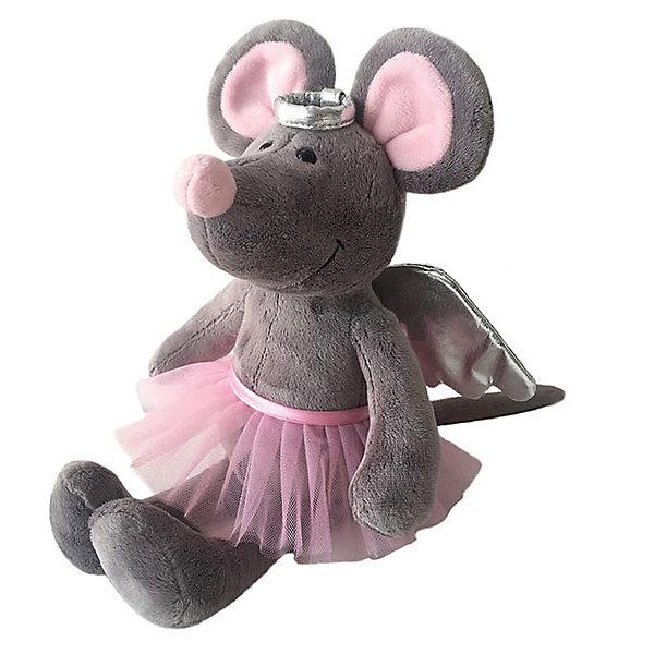 Купить Мягкая игрушка Softoy Мышь с крылышками 26 см, Китай, Унисекс