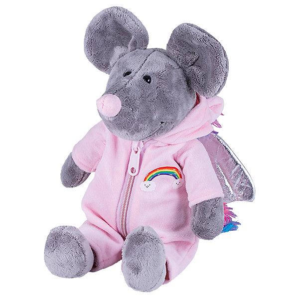 Купить Мягкая игрушка Softoy Мышь в костюме единорога 26 см, Китай, Унисекс