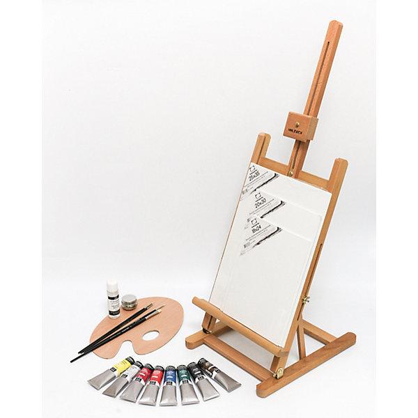Стартовый набор Малевичъ для живописи маслом, Китай, разноцветный, Унисекс  - купить со скидкой
