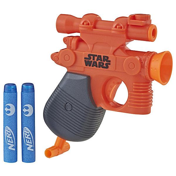 Купить Игрушка бластер Nerf Star Wars Микрошот , Хан Соло, Hasbro, Индия, разноцветный, Мужской