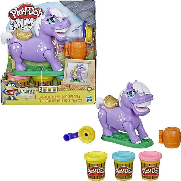 Купить Игровой набор Play-Doh Пони-трюкач , Нейбелль, Hasbro, Китай, разноцветный, Женский