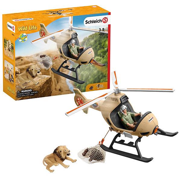 Schleich Игровой набор Schleich Вертолет- спасатель для диких животных набор игровой schleich schleich mp002xc006bl