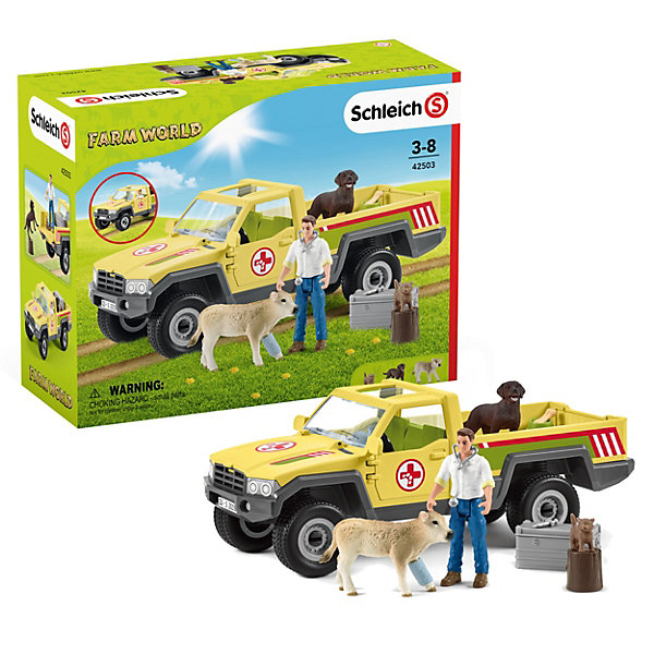 Schleich Игровой набор Schleich Визит ветеринара на ферму набор игровой schleich schleich mp002xc006bl