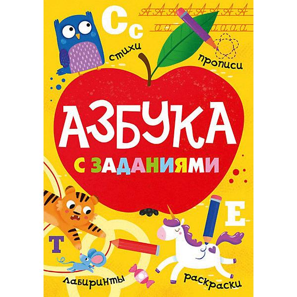 Проф-Пресс Азбука с заданиями балуева оксана азбука для мальчиков