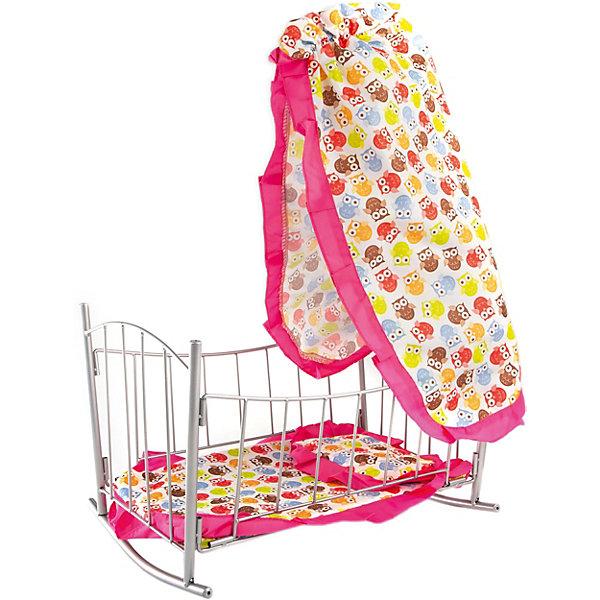 Buggy Boom Кроватка-качалка Loona, с совами