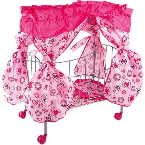 Buggy Boom Кроватка с балдахином Loona, кольцами