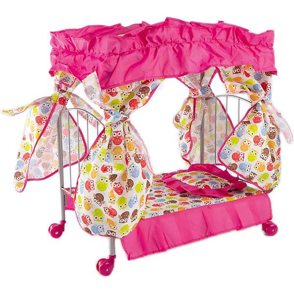 Buggy Boom Кроватка с балдахином Loona, совами