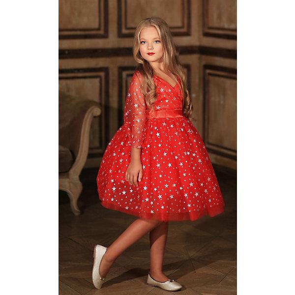 Купить Нарядное платье Aliciia, Россия, красный, 122, 140, 116, 134, 110, 104, 128, Женский