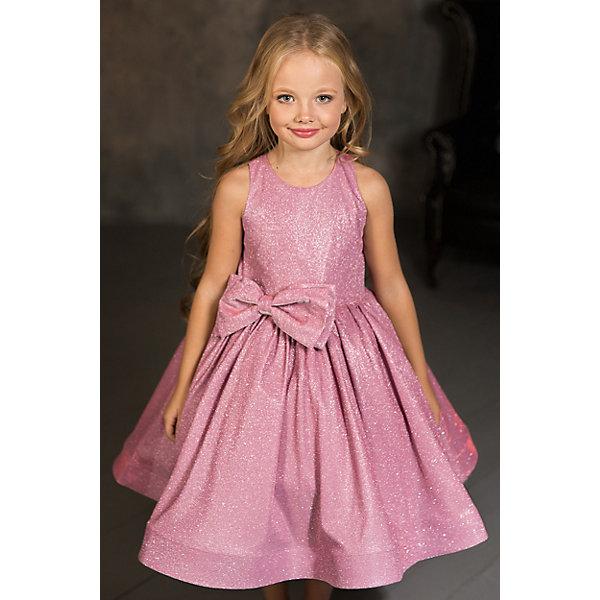 Купить Нарядное платье Aliciia, Россия, розовый, 110, 104, 116, 128, 122, Женский