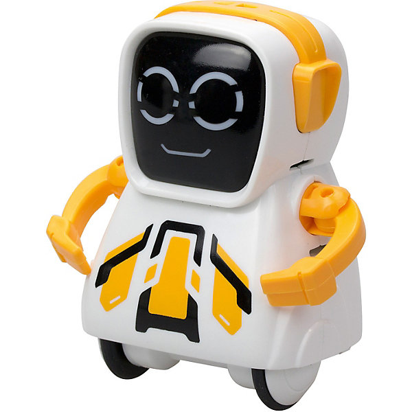 Silverlit Интерактивный робот Yxoo Покибот, жёлтый квадратный