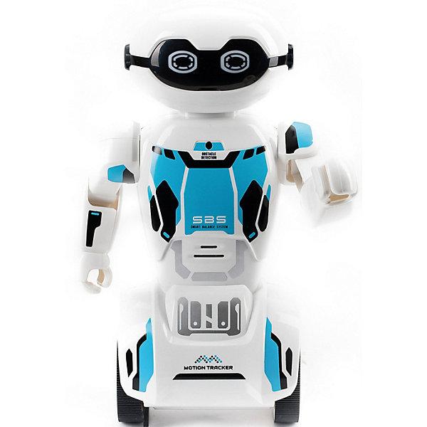 Silverlit Интерактивный робот Yxoo Макробот, синий