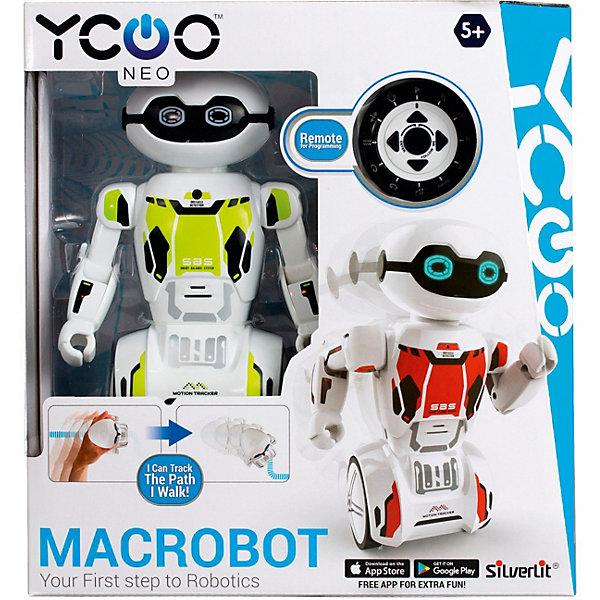 Silverlit Интерактивный робот Yxoo Макробот, зелёный