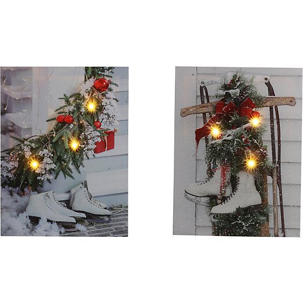 House of Seasons Рождественская картина seasons белая
